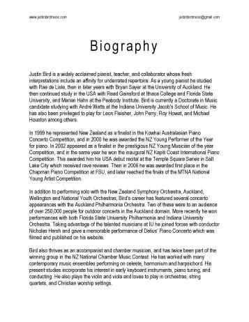 Justin Bird - Biography_Page_1